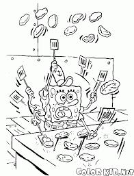 Disegni Da Colorare Spongebob Ai Fornelli