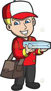 pizza delivery clipart. Contemporary Delivery A Delivery Man Bringing A Pizza With Pizza Delivery Clipart