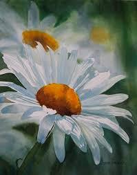 white daisies painting white daisies by sharon freeman