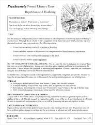 samples of formal essays pdf format  formal literary essay sample