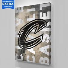 1 on cleveland cavaliers wall art with cleveland cavaliers blackout logo sports canvas ikonick x nba