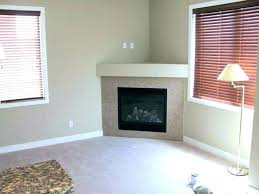 corner fireplace with tv above corner electric fireplace tv console