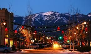 whitefish montana showing off its western holiday spirit photo brian schott