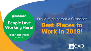 exp realty named a best place to work in glassdoor s 2018 employees choice awards