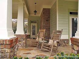 House Plans Online   Porches   House Building Plans   House    bungalow house plan front porch by familyhomeplans com