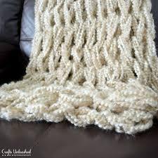 arm knitting blanket crafts unleashed 1