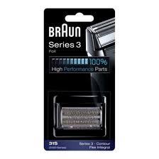 Refill Grid and <b>Braun</b> Knives for Electric Razors <b>Series 3</b> Combipack ...