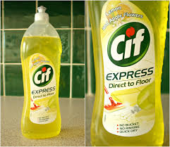 Kitchen Floor Cleaners Two Tiny Terrors Cif Express Direct To Floor Review