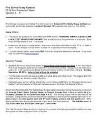 prevention essay fire prevention essay