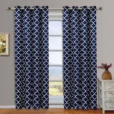 meridian pair set of 2 blackout thermal insulated grommet window curtain panels com
