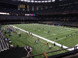 Fedex Field Loge Seating Chart Mercedes Benz Superdome View From Loge Level 251 Vivid Seats