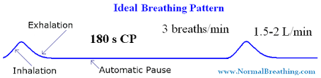 Types Of Breathing Patterns Ideal Breathing Pattern Only 3 Breaths Min