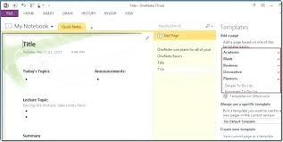 Onenote 2010 Templates Onenote 2010 Templates For Notebooks Extracted Template One Note