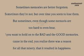 Memory Quotes And Sayings Images Pictures CoolNSmart Custom Good Memories Quotes