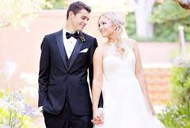 Após pedido durante Roland Garros, tenistas Taylor Fritz e Raquel Pedraza  se casam · Revista TÊNIS