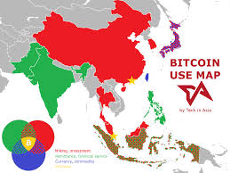 Bitrawr global bitcoin node map estimates the size of the bitcoin network by finding all the the data is sourced using bitnodes, which is currently being developed to estimate the size of the bitcoin. How Asia Uses Bitcoin In One Color Coded Map