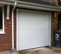 hormann garage doorHormann Sectional Door LRibbed White3jpg