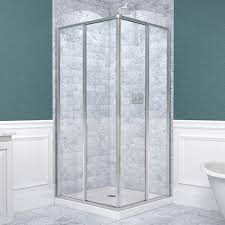36 x 36 corner shower kit. dreamline cornerview white acrylic floor square 2-piece corner shower kit (actual: 74.75-in x 36-in 36-in) dl-6710-01 36 w