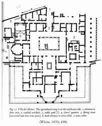 roman villa floor plan lovely ancient