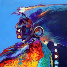 640x637 r c gorman gallery southwestern native american art canitz art painting by native american artists