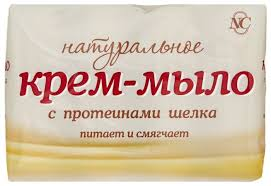 <b>Крем</b>-<b>мыло Невская</b> Косметика Натуральное с протеинами шелка