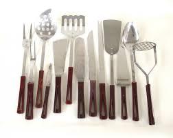 modern kitchen utensils. Photo 1 Of 2 Kitchen Surprising Mid Century Modern Utensil Set Stanhome By LaurasLastDitch Images In Minimalist Ideas Utensils E