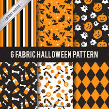 Halloween Pattern Amazing Collection Of Halloween Patterns Vector Free Download