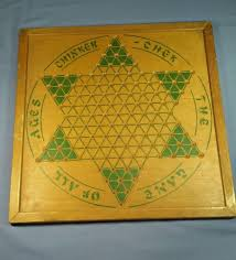Old Fashioned Wooden Games RARE ANTIQUE VINTAGE CHINKER CHEK CHINESE CHECKERS WOOD GAME BOARD 41