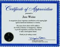 Free Printable Editable Certificates Classy Sample Template For Certificate Of Appreciation Cassifieldsco