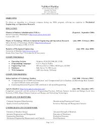 Resume Templates Objectives Saneme