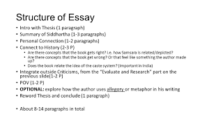 siddhartha by herman hesse ppt structure of essay intro thesis 1 paragraph