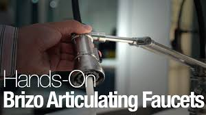 Articulating Kitchen Faucet Brizos Articulating Kitchen Faucets Youtube