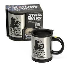 darth vader self stirring mug