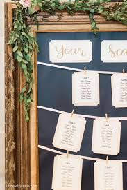 Sincerely Jennie Diy Wedding Seating Chart Instructions