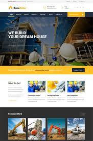 Construction Website Templates Beauteous 48 Best Architecture Construction Website Templates 48