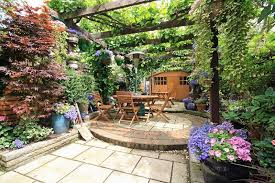 Small Picture Awesome Garden Patio Designs And Ideas Contemporary Home Design