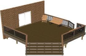 diy wooden deck designs. free deck plans from timbertech diy wooden designs