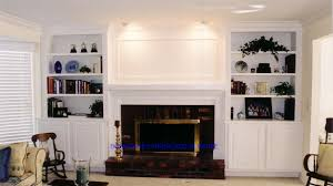 built in bookcases around fireplace   To see full screen size ...