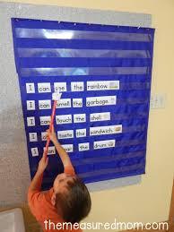 Pocket Chart Poems For Kindergarten Free Five Senses Activity For Preschool And Kindergarten
