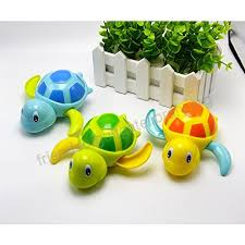 Baby Bath Toy, Dmeixs Wind Up Toys, Bathtub Turtle Toys for Toddlers ...