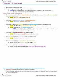 Eng100h5 Chapter 28 Commas Oneclass