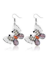 6 colors available vine hollow erfly bohemian fashion earrings