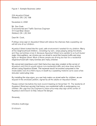 Contoh Surat Inquiry Letter Full Block Style Cover Letter Templates