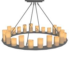 pillar candle round chandeliers 3d model formfonts 3d models with regard to faux candle