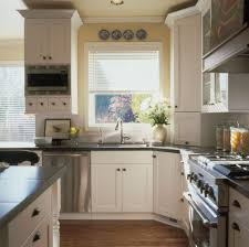 Antique Style Kitchen Cabinets Kitchen Appliances Terrific Retro Style Kitchen Design With