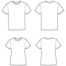 Costume Drawing Template Shirt Drawing Template Senetwork Co