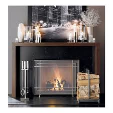 i think we found the perfect fireplace screen and accessories for the living room so excited alton ii pewter fireplace screen in fireplace accessories