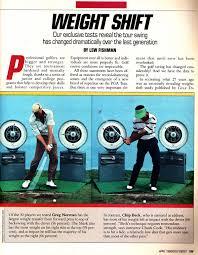 golf digest weight shift article