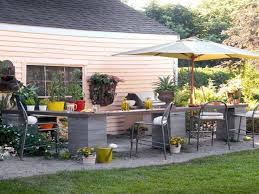 Simple Outdoor Kitchen Simple Outdoor Kitchen Design Ideas With Island Bar Kitchen