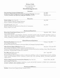 Sample Occupational Therapy Resume Beautiful Endearing Sample Resume